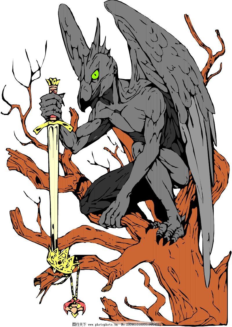 传说想象中的动物0199