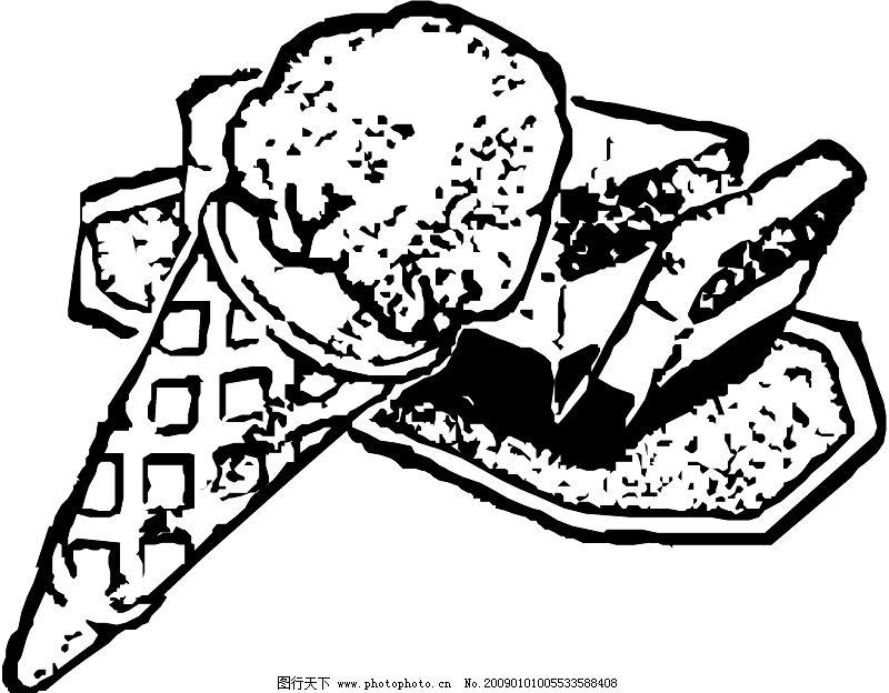 美食图片素材简笔画