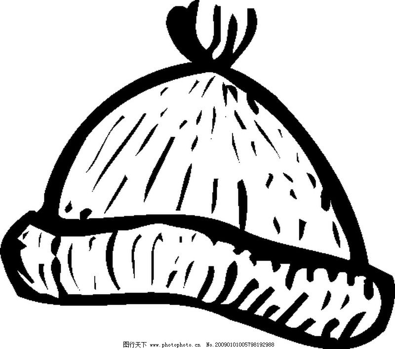 帽子的简笔画可爱型的