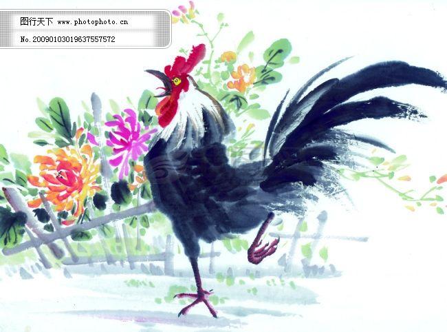 中华艺术绘画_古画_山水画_动物绘画_飞鸟_中国古代绘画