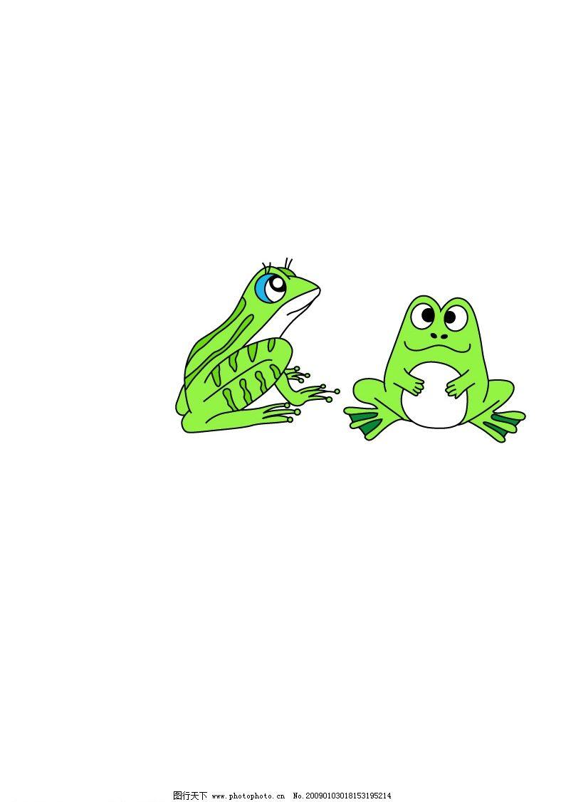 青蛙矢量图图片_app界面