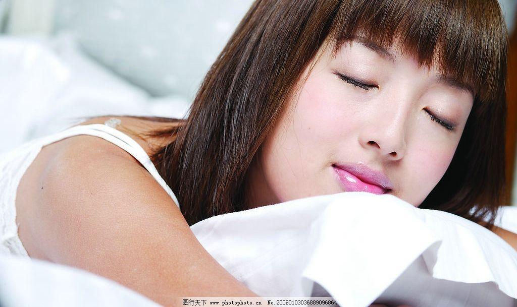 睡姿 女性 布 人物图库 女性女人 摄影图库 300dpi jpg