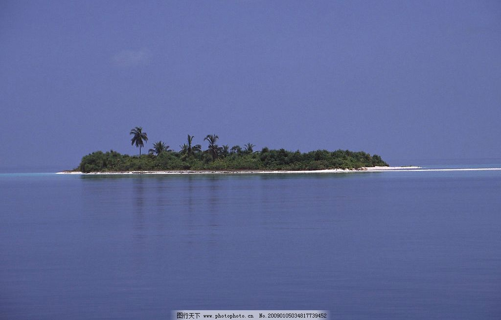 海岛风光图片 自然风光 自然景观 自然风景 海岛 岛屿 海水 海滩 蓝天