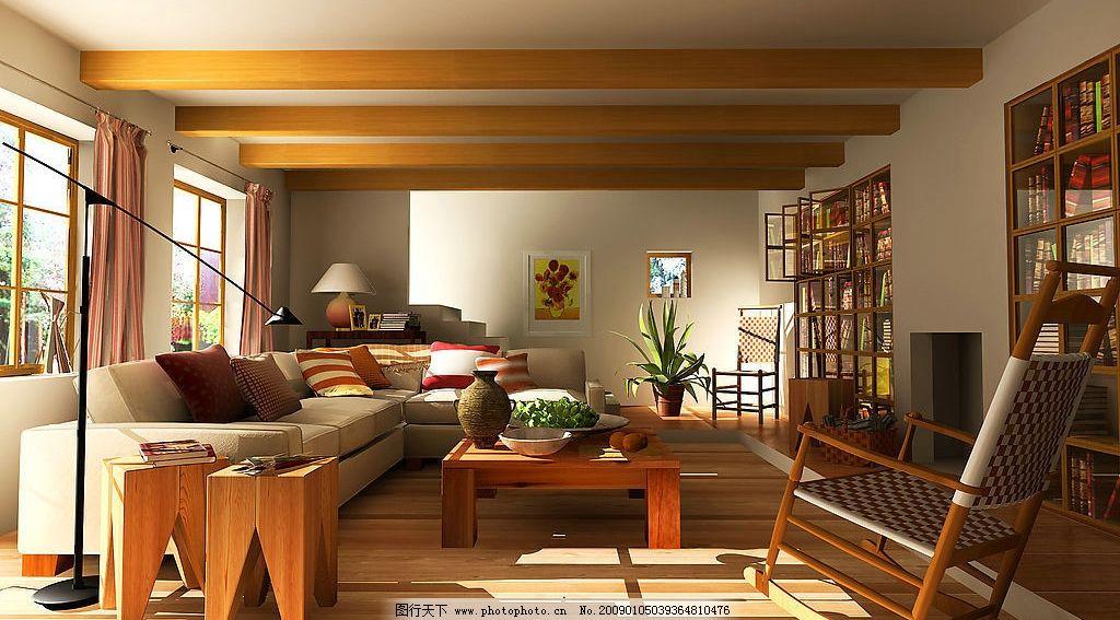 室内设计 室内家居 室内阳光      现代起居室 建筑园林 室内摄影