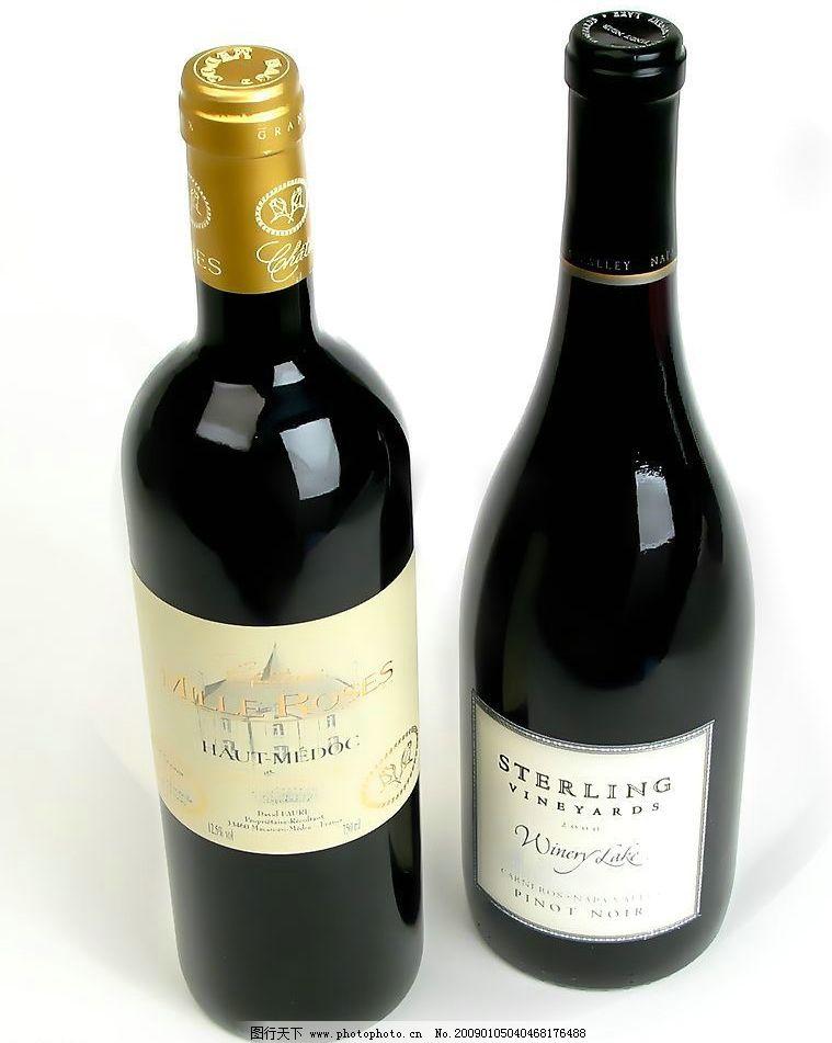 红酒瓶图片