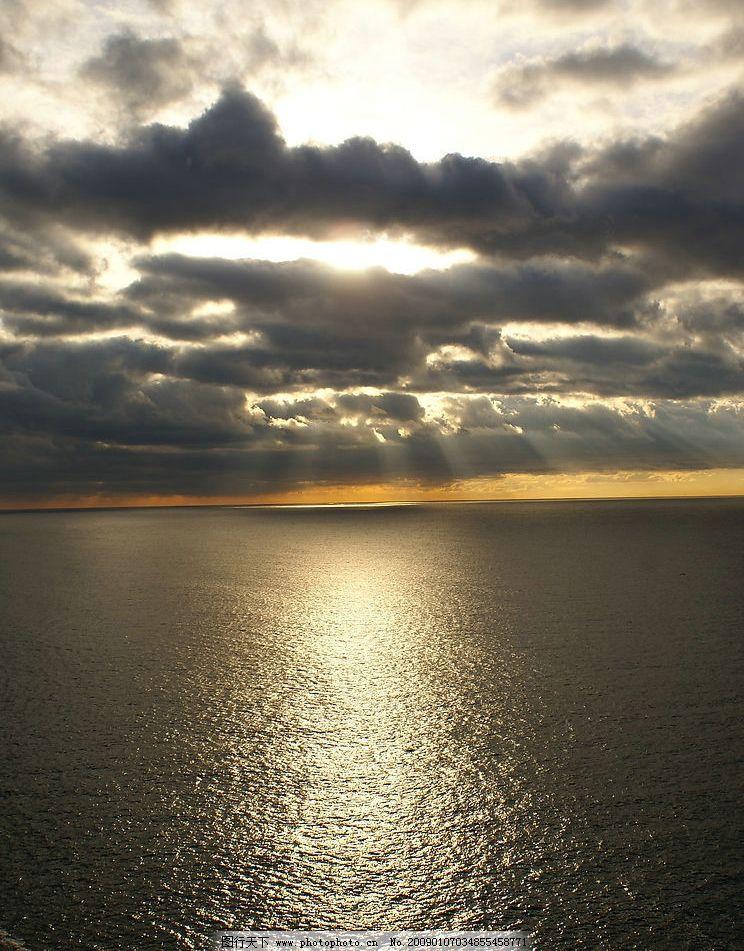天空云 天空 云 云彩 大海 海面 海水 旅游摄影 自然风景 摄影图库