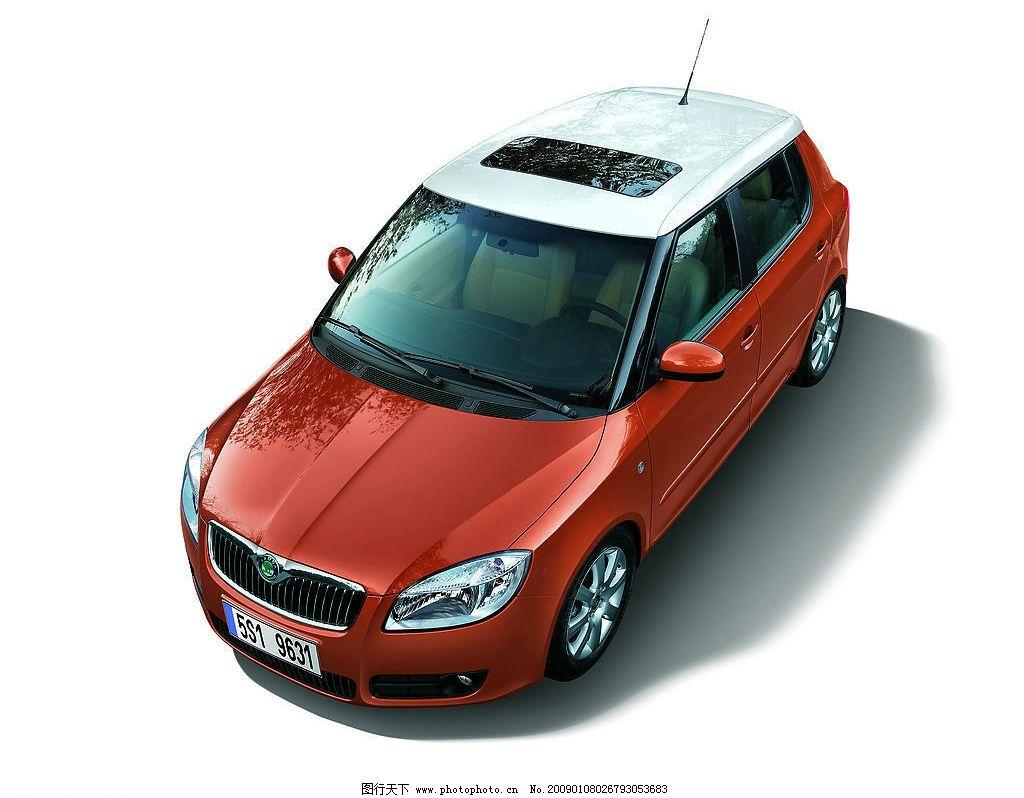 晶锐 斯柯达 汽车天窗 俯视 汽车 现代科技 交通工具 设计图库 jpg