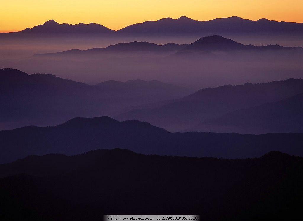 日本名勝 日本 名勝 山川 云層 云彩 落霞 風景 自然景觀 自然風景 攝