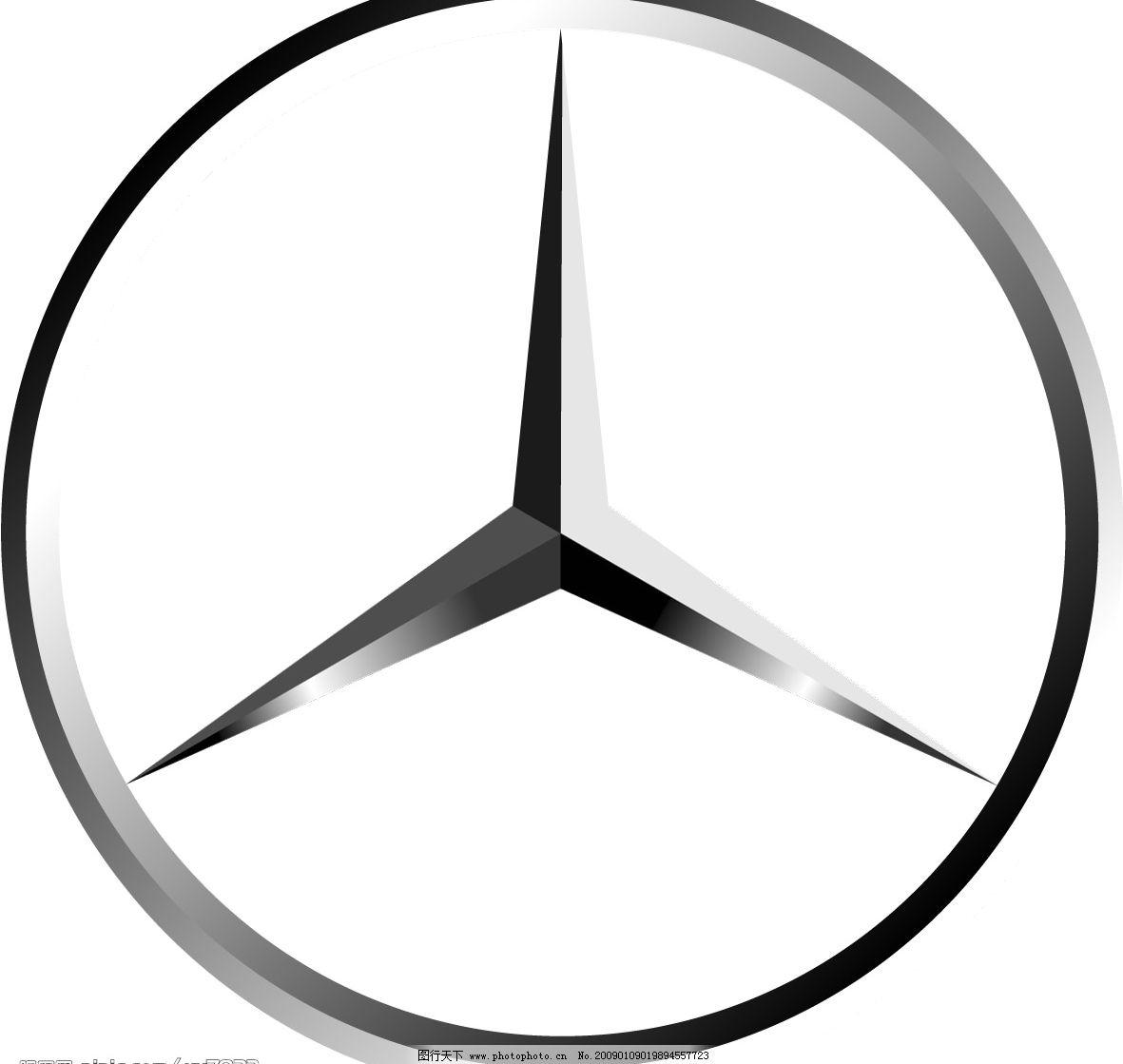 北京奔驰汽车logo