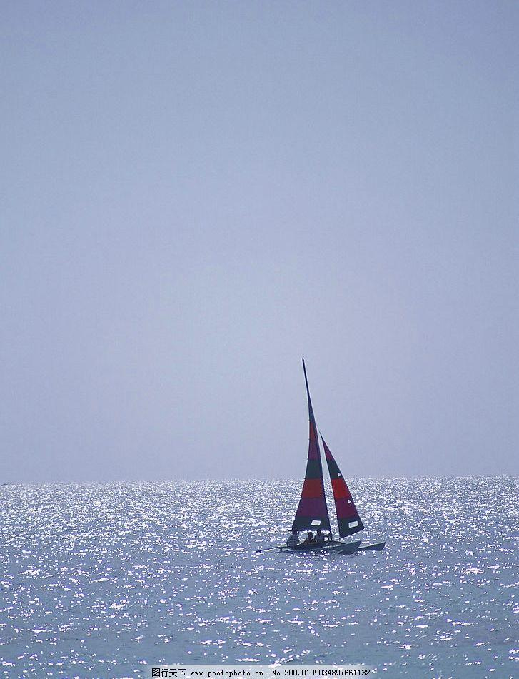 帆船项目图片 自然风景 自然风光 自然景观 海水 海洋 海边 海面 蓝天