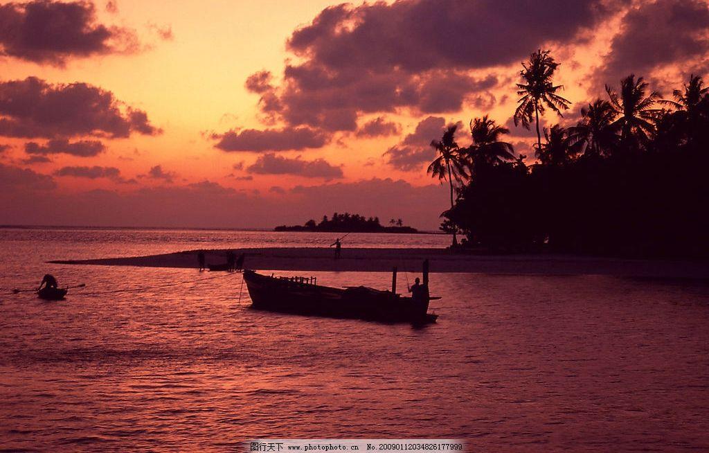 渔村风光 自然风景 自然风光 自然景观 海水 海洋 海边 海面