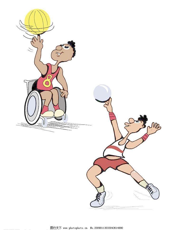 职业人物 篮球运动矢量素材 篮球运动模板下载 篮球运动 篮球 卡通