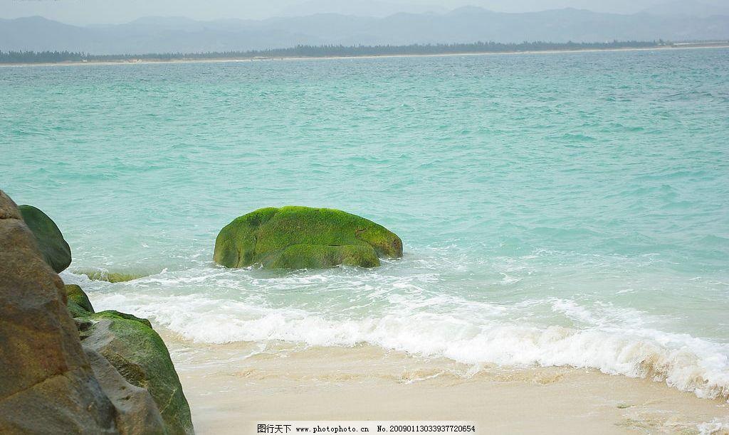 海岛岩石 海岛 岩石 海南 海 海浪 沙滩 旅游摄影 国内旅游 摄影图库