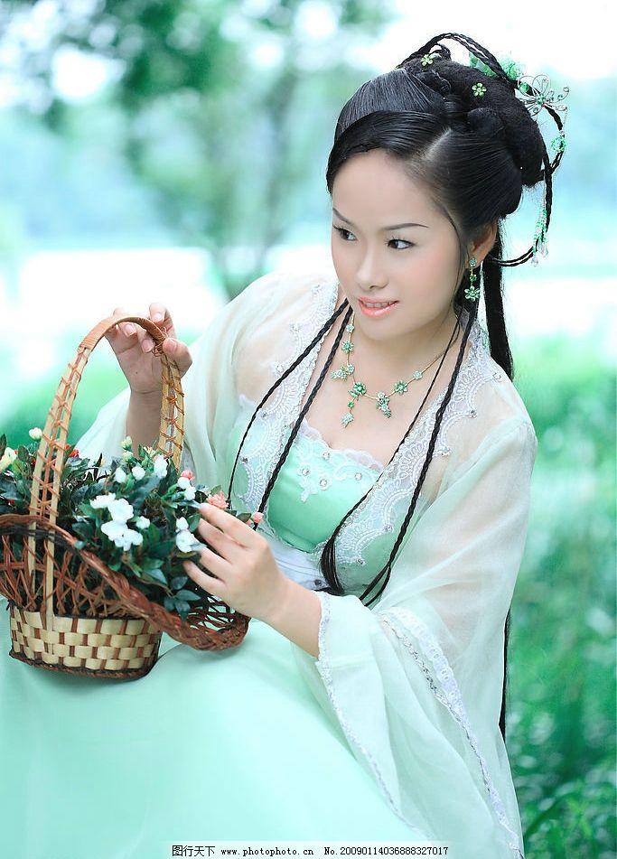 古装写真 古装 摄影 写真 古典 美女 人物图库 女性女人 摄影图库 350