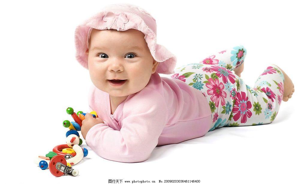 可爱宝贝 外国小孩 外国婴儿 小天使 儿童幼儿 摄影图库