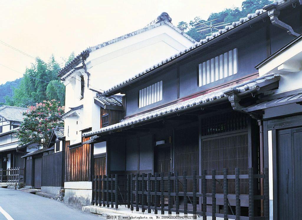 日本民居 风情建筑 建筑摄影
