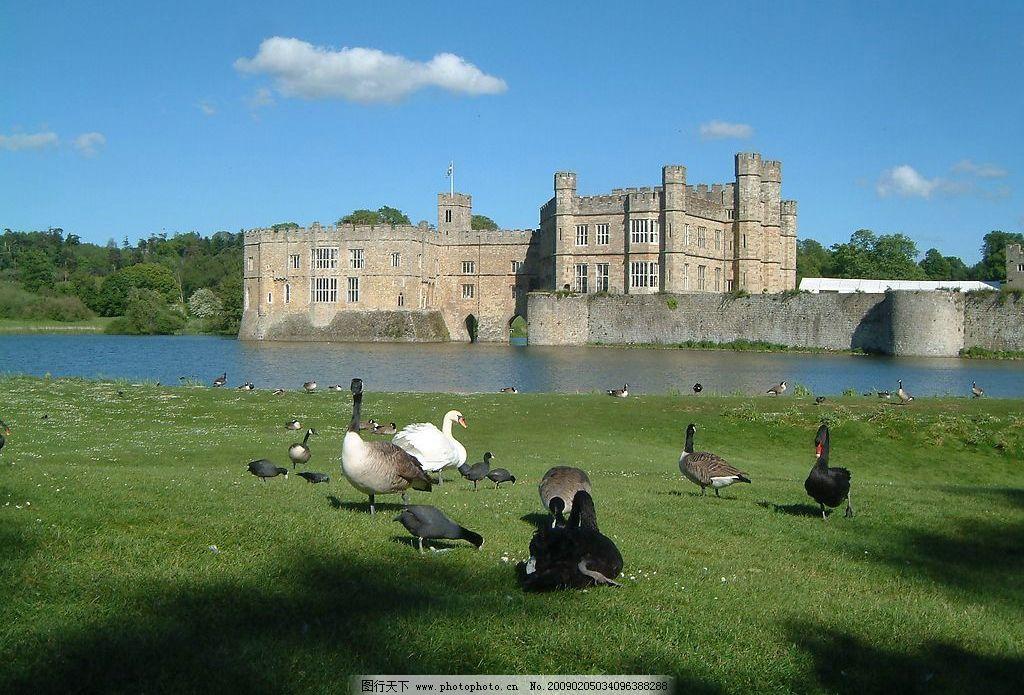 英国 利兹堡 古城 古堡 古建筑 欧式建筑 旅游景点 旅游摄影 国外旅