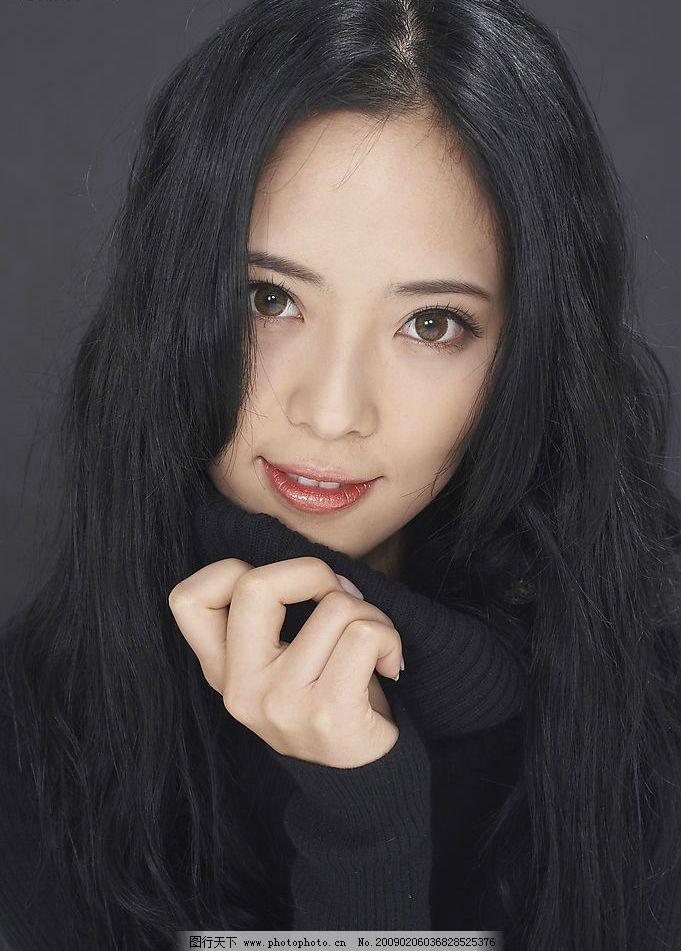 模特 漂亮美女 性感美女 韩国美女 高个美女 时尚美女 时装模特 人物