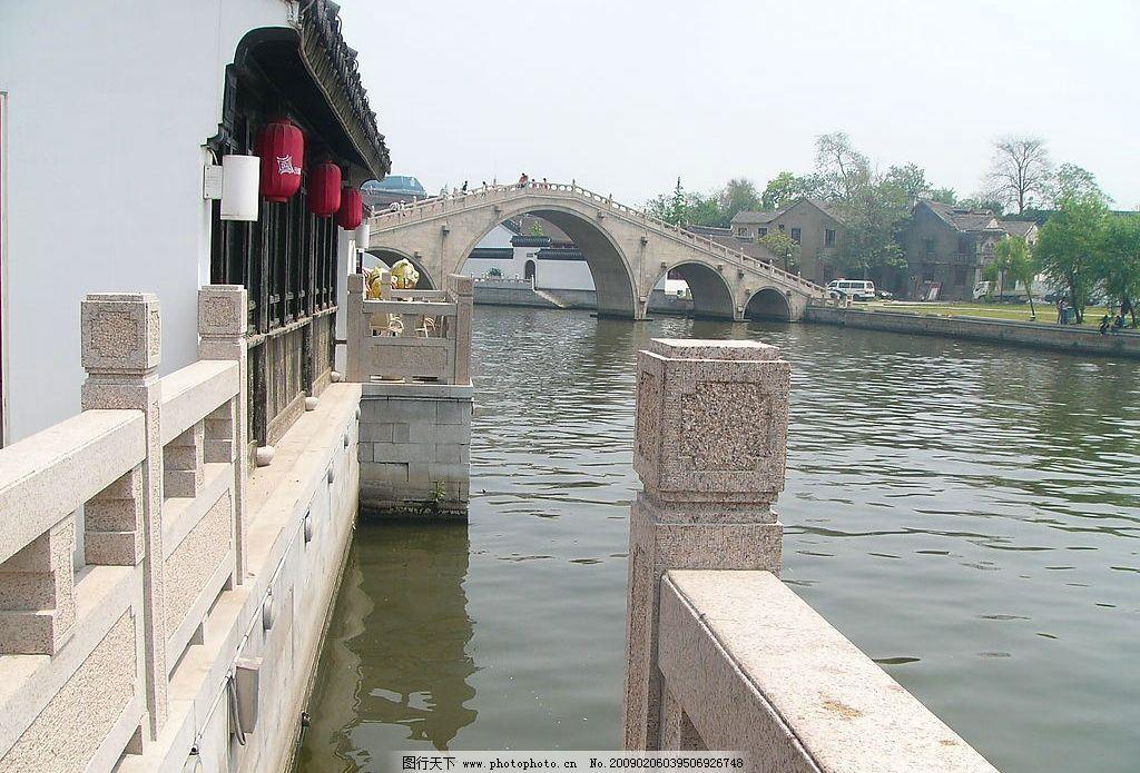 苏州风景 小桥 流水 园林 建筑园林 园林建筑 摄影图库