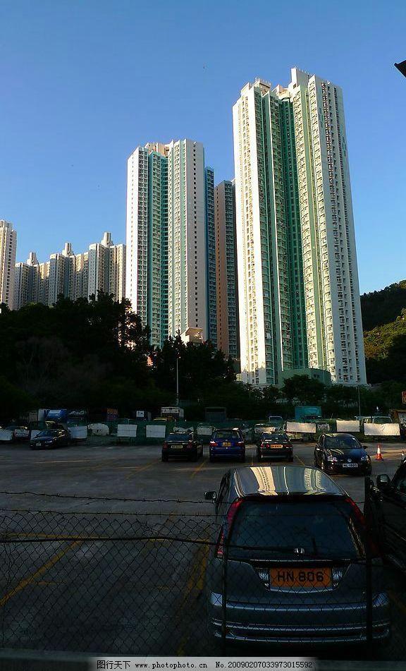 青岛市早晨高楼图片