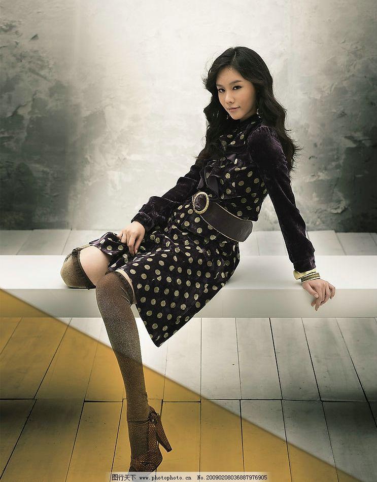 摄影图库 人物图库 女性女人  韩国模特金亚中 金亚中 模特 漂亮美女