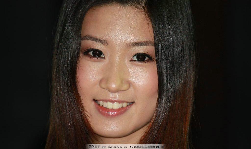 美女 脸部 特写 表情      可爱 美丽 俏皮 人物图库 女性女人 摄影图