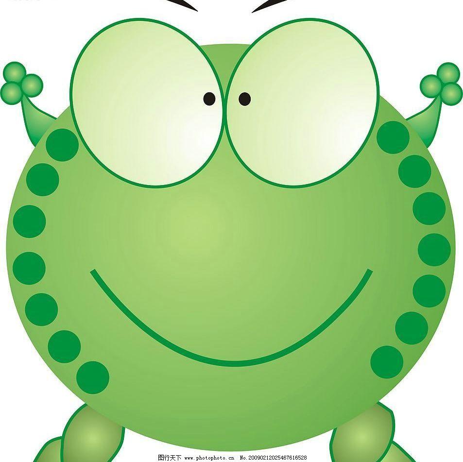 青蛙1 可爱 其他生物 矢量图库