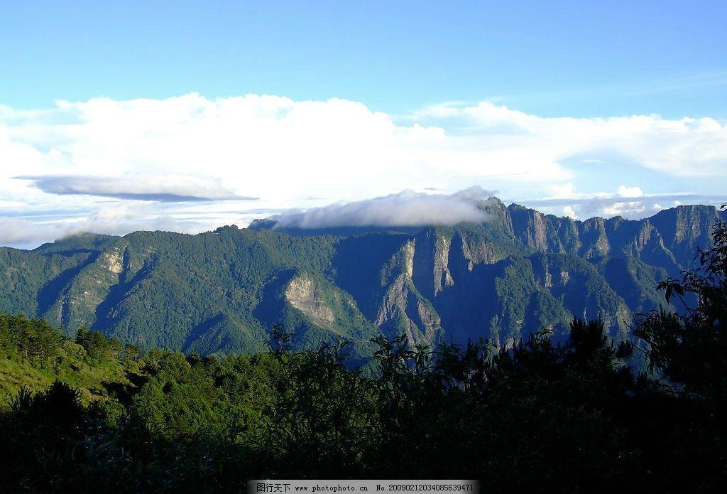 台湾嘉义县:阿里山国家风景区图片