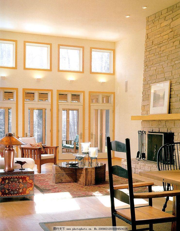 客厅装饰 窗户 桌子 茶几 家具 地毯 椅子 沙发椅 装饰品 生活