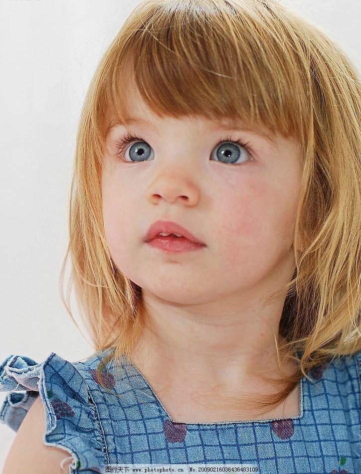 小女孩 儿童 外国小孩 儿童写真 儿童模特 童星 儿童幼儿 摄影图库