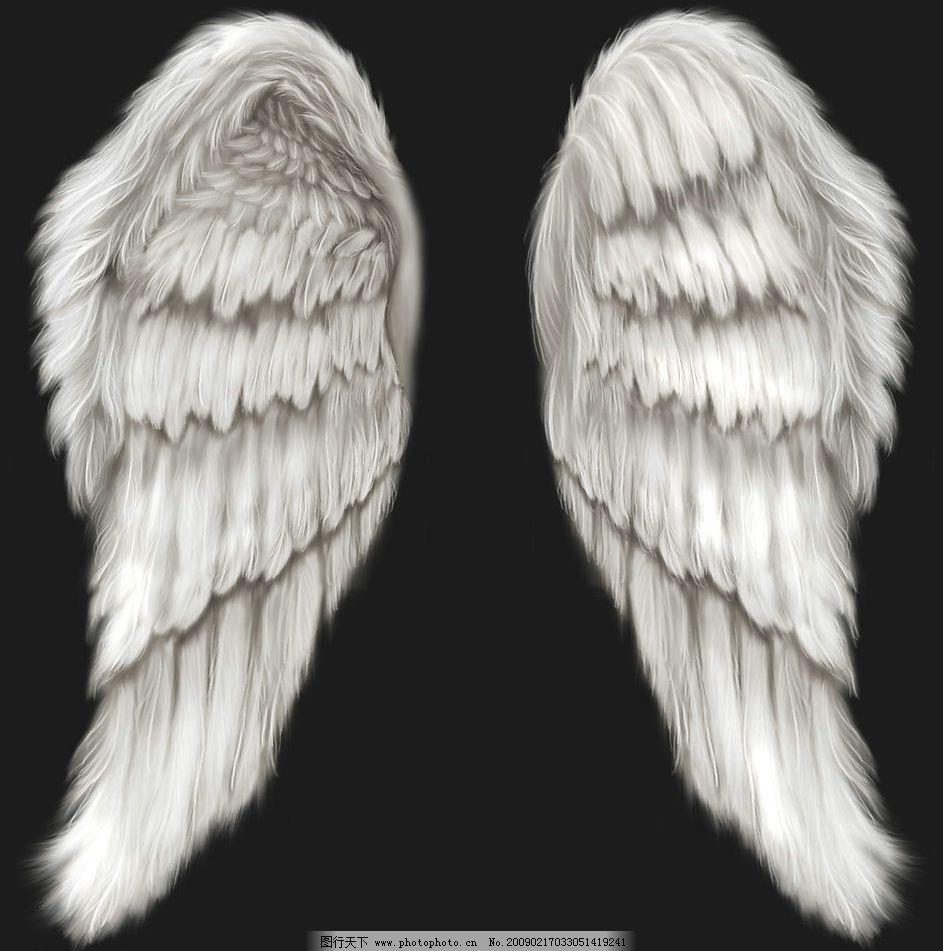 天使翅膀 psd分层素材 源文件库 300dpi psd