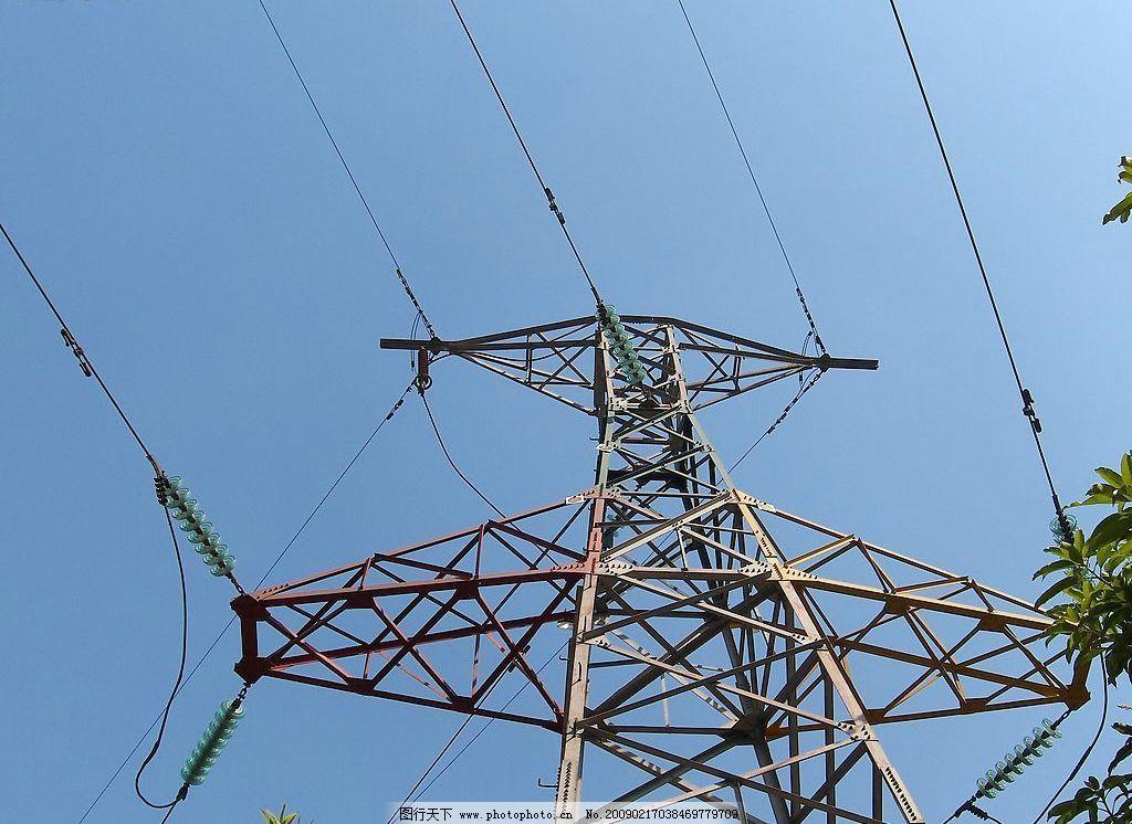 高压线 供电 线路 电缆塔 电力 电线 动力 现代科技 其他 摄影图库