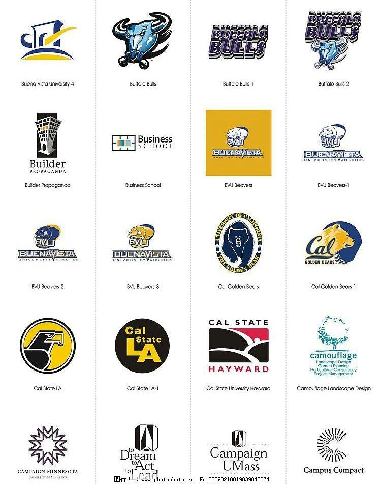 国外标志设计20 国外标志设计 各行各业cdr标志 标识标志图标 公共