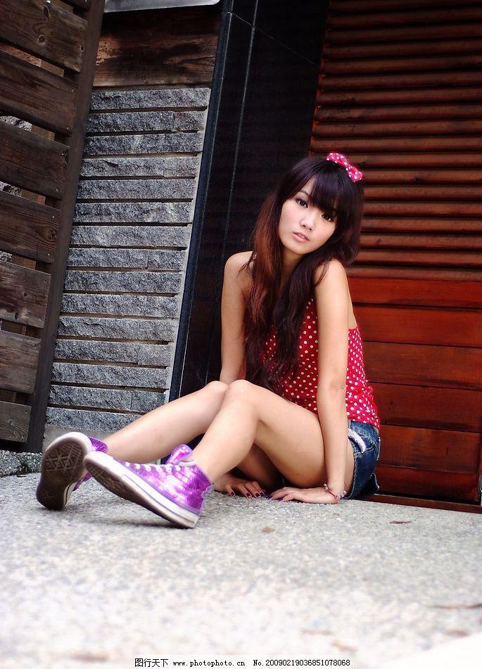 小品 台湾 美女 模特 清纯 可爱 时尚 清晰 漂亮 美丽 女生