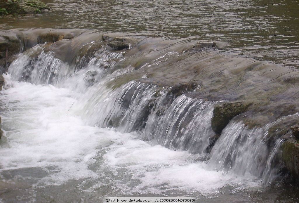 溪流水 水 溪流 河流 石头 水珠 自然景观 山水风景 摄影图库 96dpi