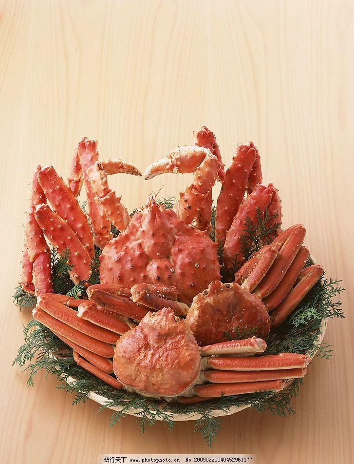 螃蟹 大杂蟹 海鲜 美食 生活百科 其他 摄影图库 350dpi jpg