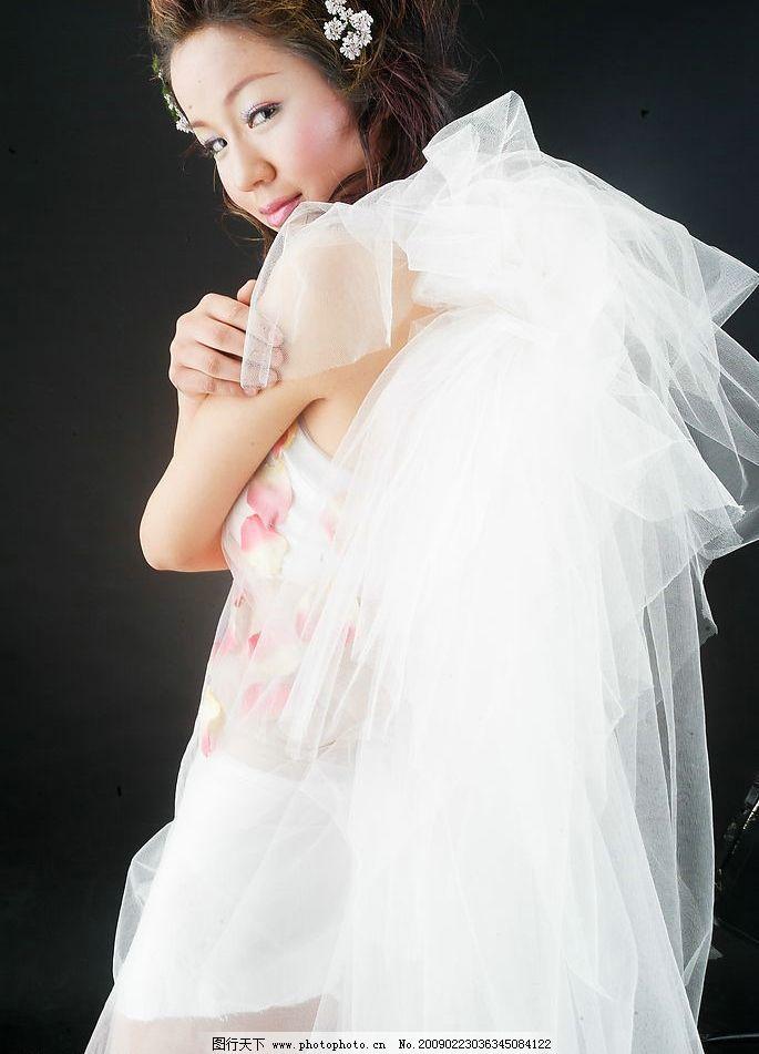 婚纱样片图片,影楼 美女 写真 女性 女人 人物 摄影