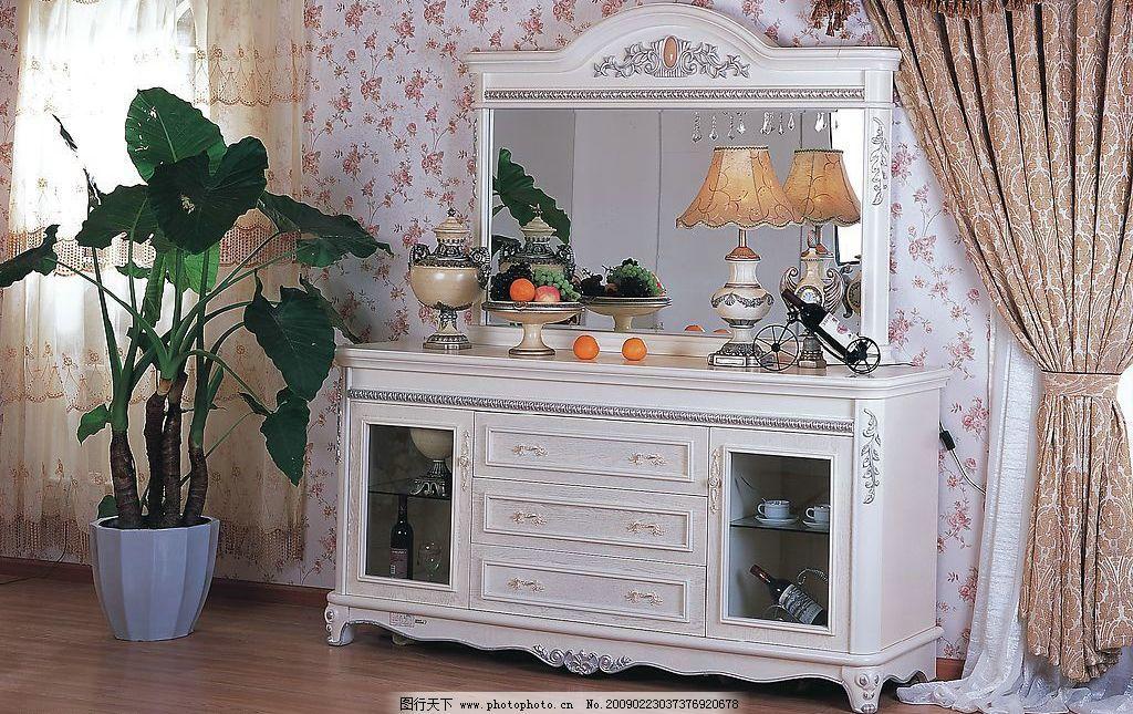室内家居 室内 家居 家具 欧式 壁灯 红酒 酒杯 镜子 台灯 水果 盘子