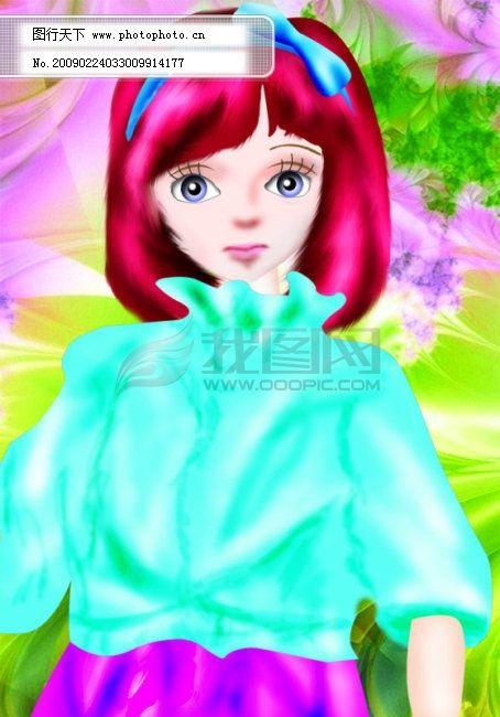 可爱的芭比娃娃!