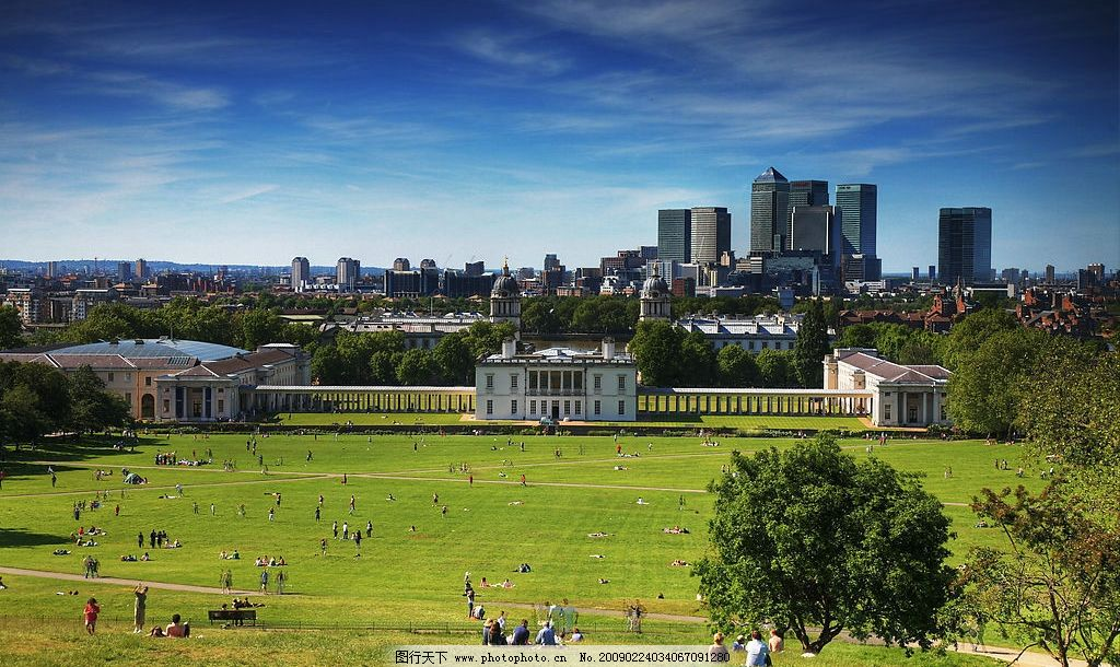 格林尼治公園 倫敦 歐洲 英國 園林 環境 國外旅游 攝影圖庫