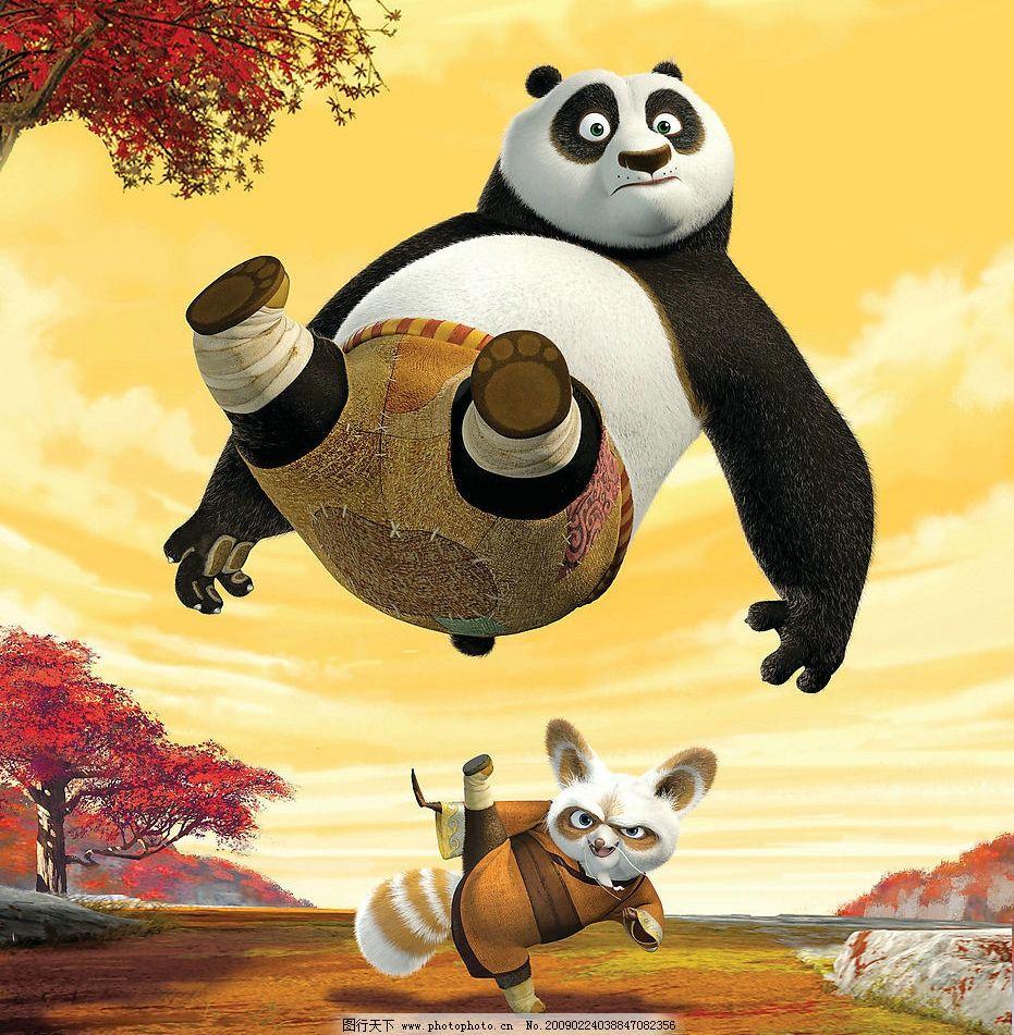 电影海报功夫熊猫图片