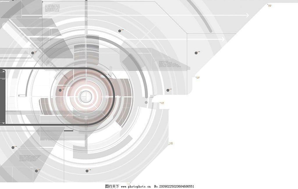 科技抽象背景 灰色 白色 圆圈 科技 抽象 背景 底纹边框 抽象底纹