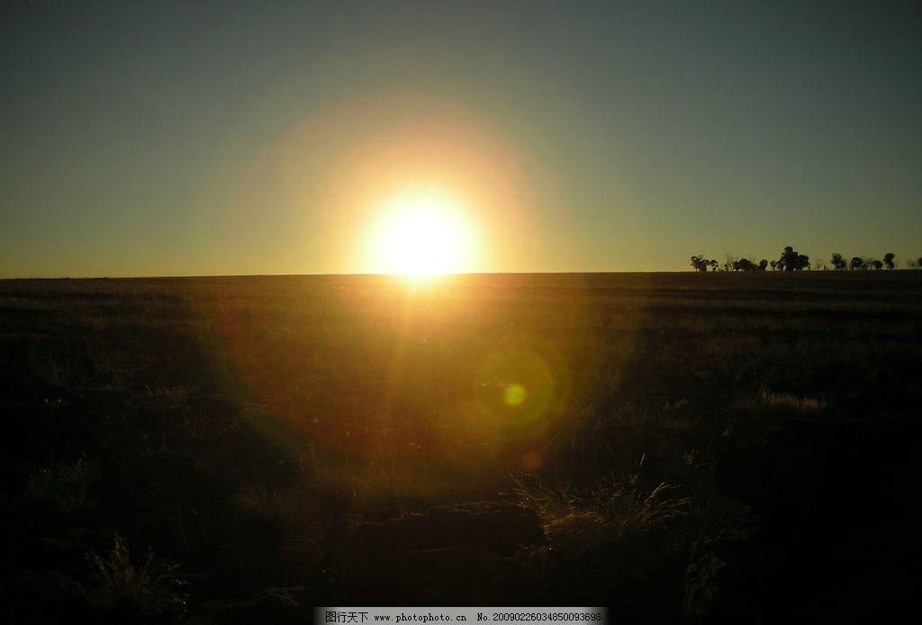日落 南非 太阳 下山 自然景观 自然风景 摄影图库 300dpi jpg