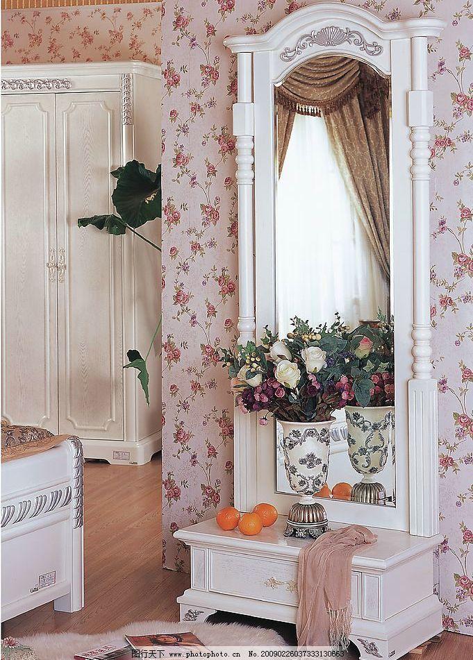梳妆台 家居家具 室内 家居 家具 欧式 壁灯 地毯 地板 壁纸 壁柜
