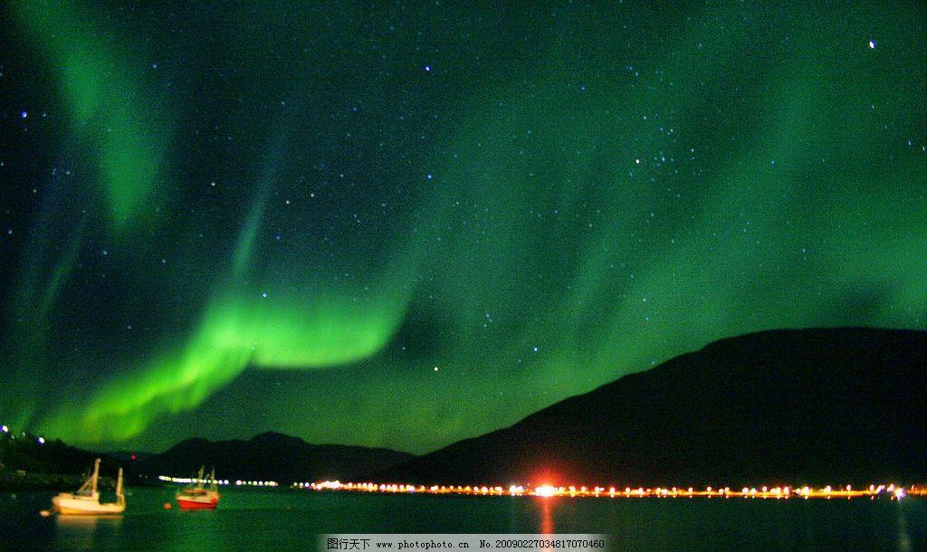 极光 北极 南极 极地奇观 自然景观 自然风景 摄影图库 72dpi jpg