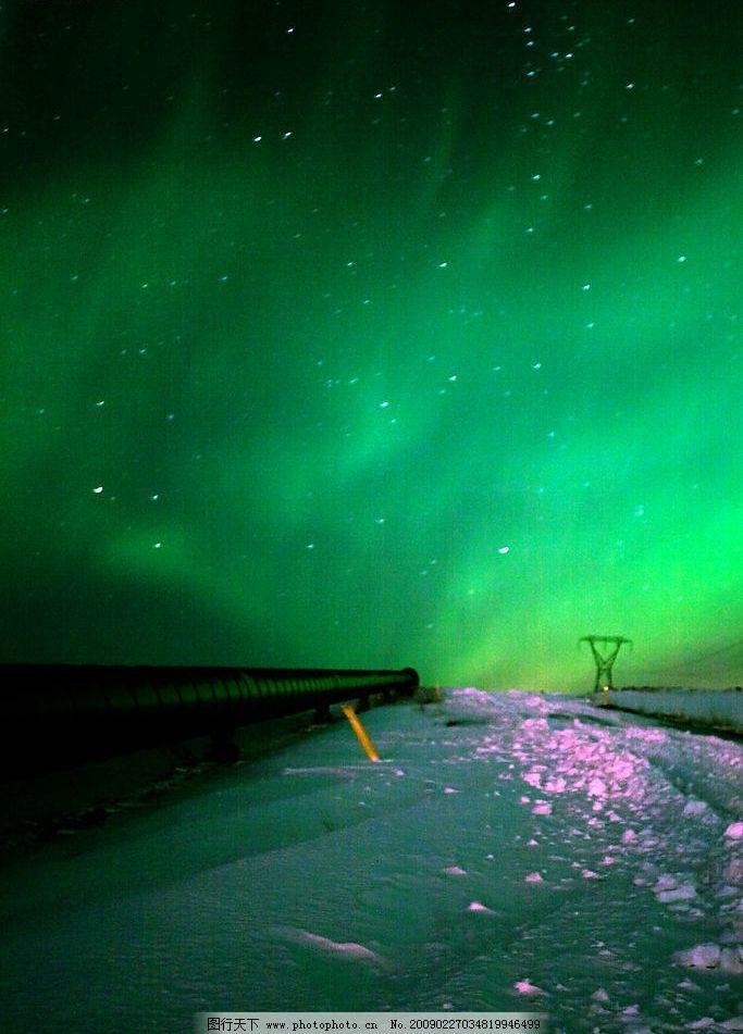 极光 北极 南极 极地奇观 自然景观 自然风景 摄影图库 240dpi jpg