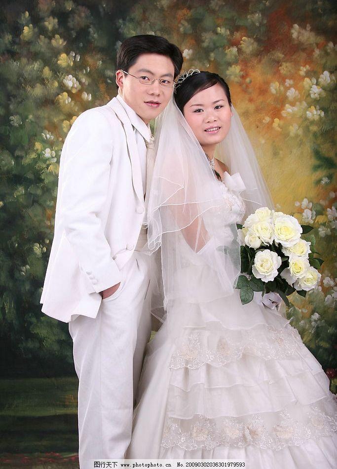 婚纱摄影 婚纱照片 婚纱样照 双人婚纱 人物摄影 摄影图库