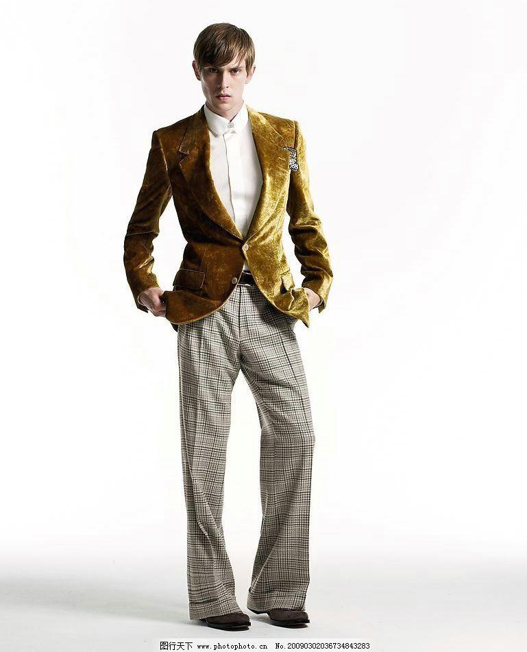 男模特 ysl2008 男模 时尚男装