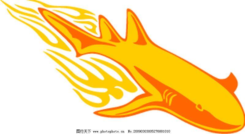 花纹图案 动物火焰