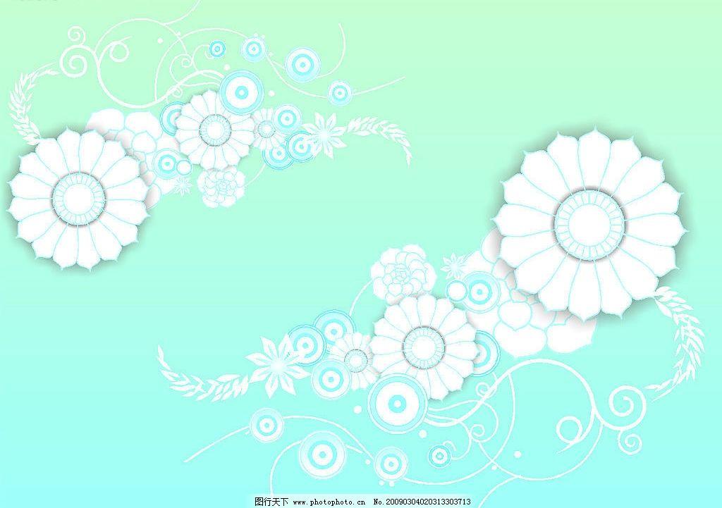 花纹 葵花 底纹边框 花纹花边 矢量图库 cdr